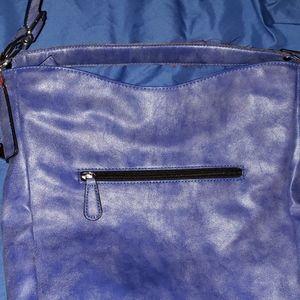 NICOLE MILLER Large blue PURSE